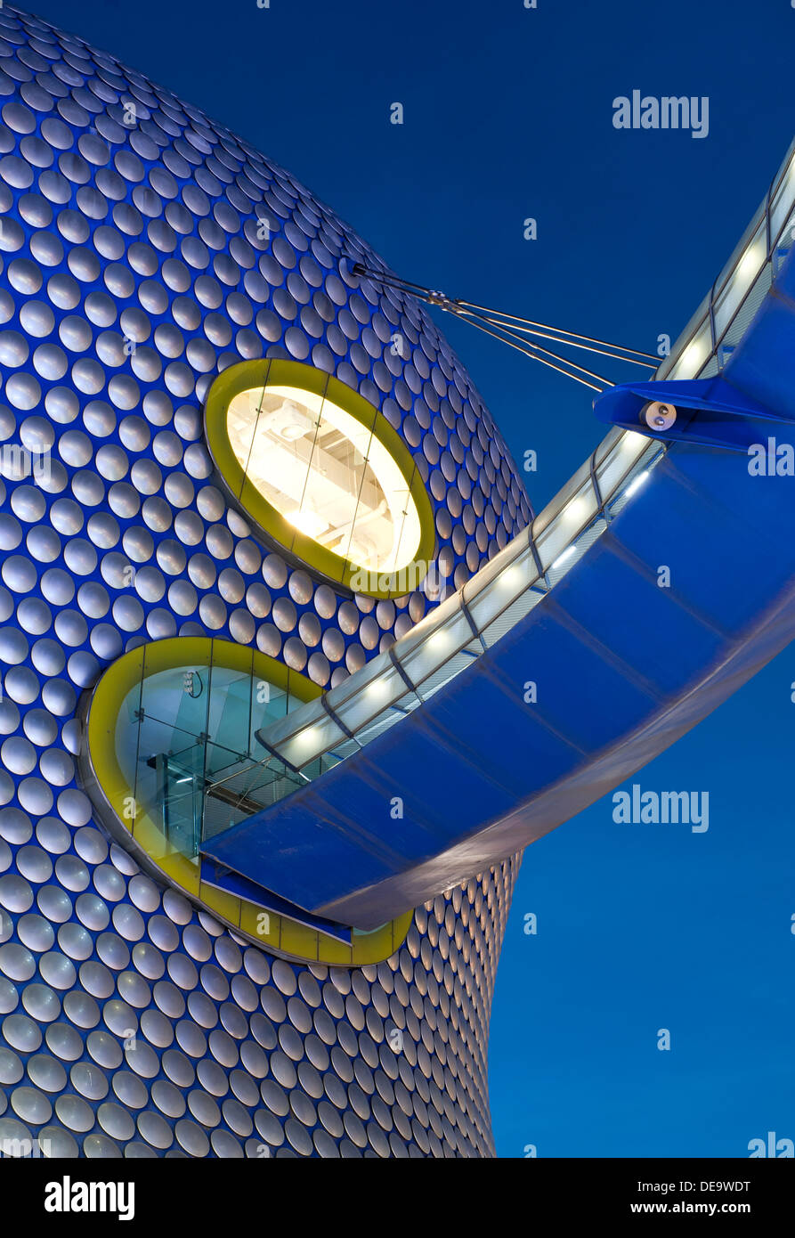 Detail of Selfridge's Department Store at The Bull Ring, Birmingham, West Midlands, England, UK - Stock Image