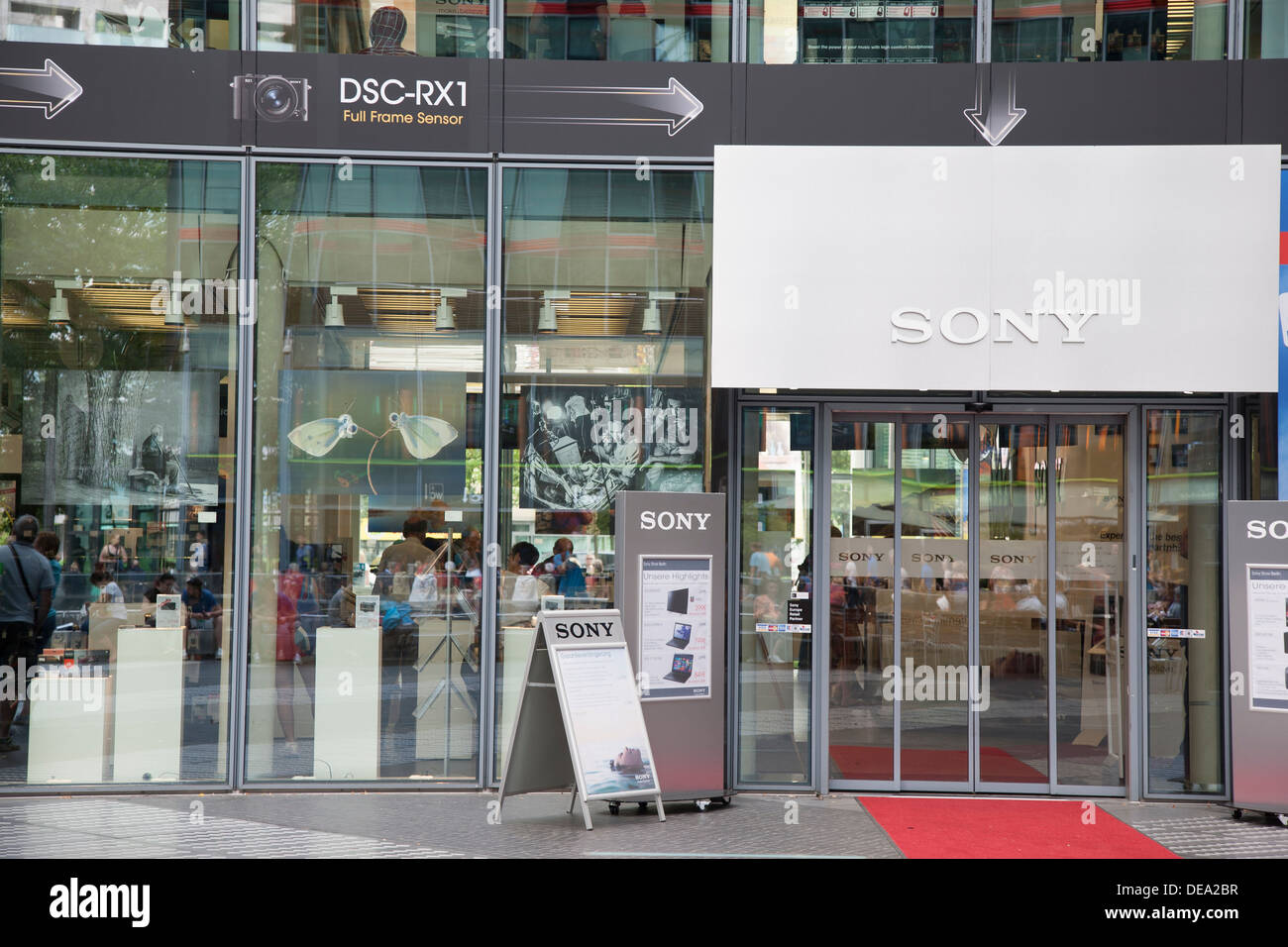 Sony Store, Sony Center, Potsdamer Platz Square; Berlin, Germany Stock  Photo - Alamy