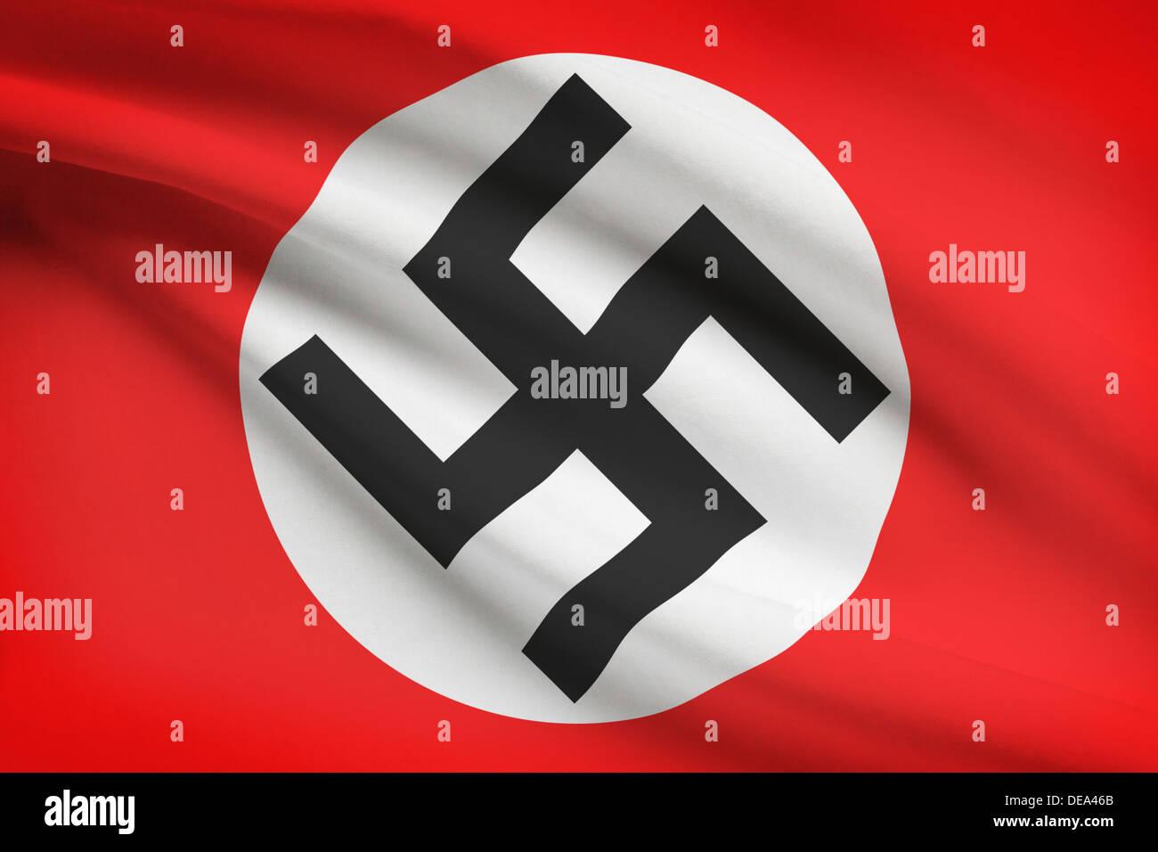 Фото немецкого флага с крестом
