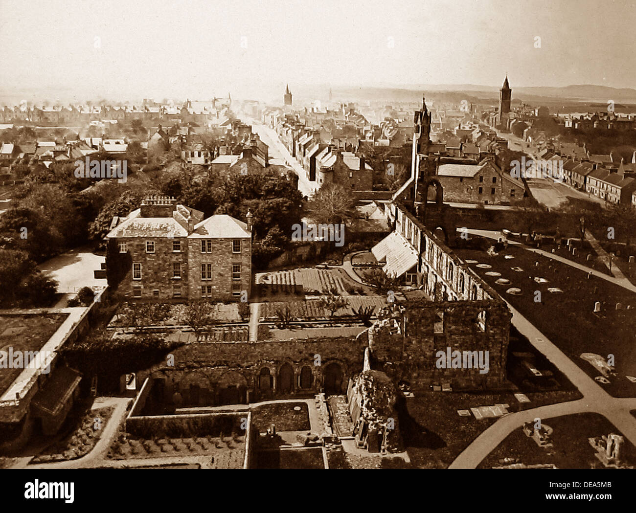 St. Andrews Victorian period - Stock Image