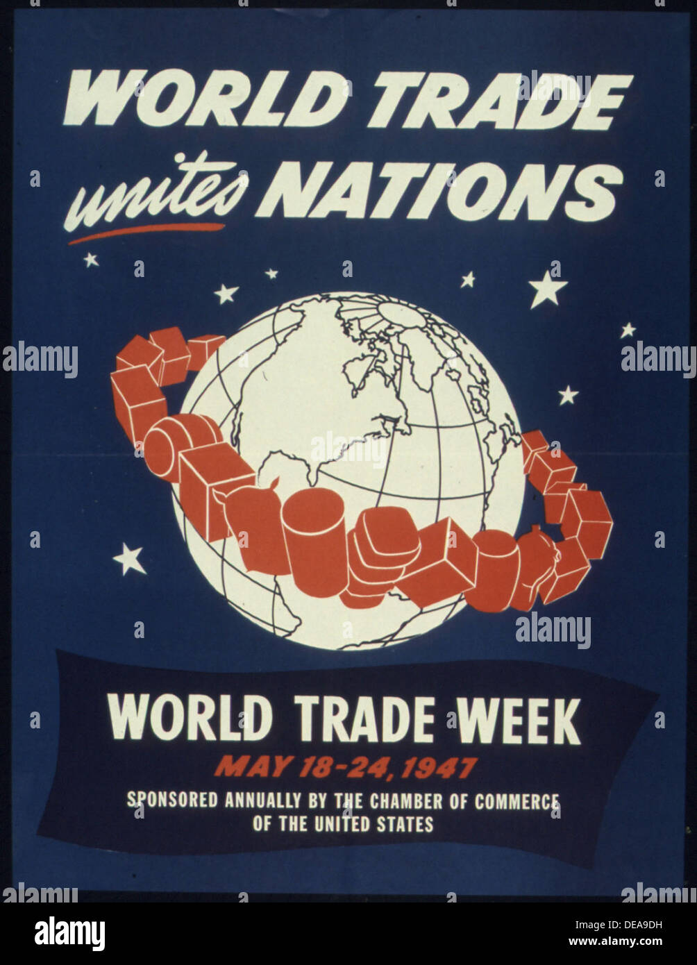 WORLD TRADE UNITES NATIONS 516195 - Stock Image