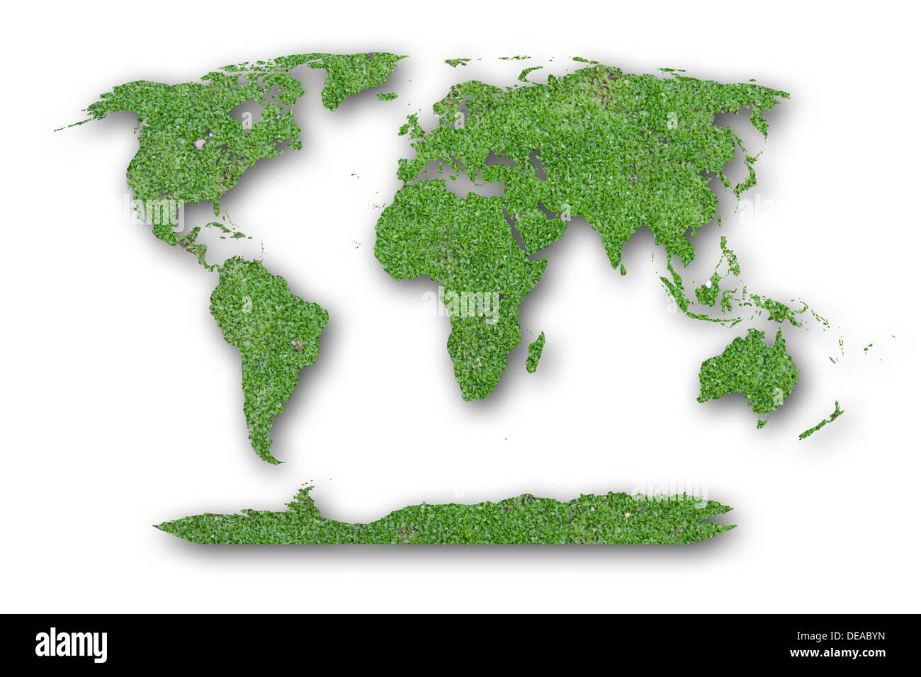 surface, rain, outdoor, wallpaper, cement, lichen, brick, stone, natural, grow, park, mossy, damp, map, green, earth, rock, leaf - Stock Image