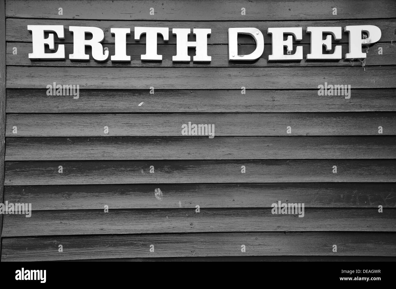 erith deep in kent Stock Photo