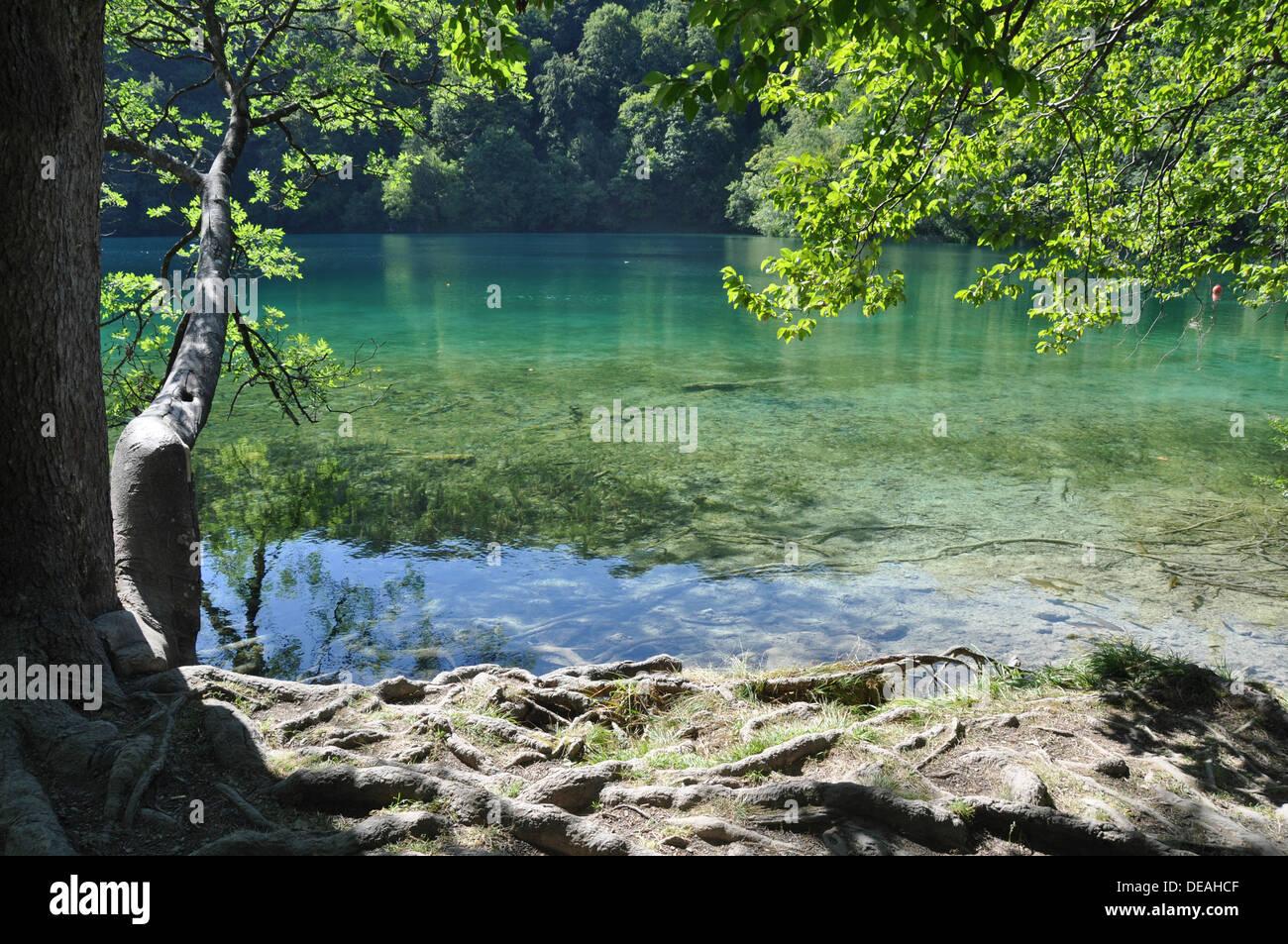 Croatia, Plitvice Lakes National Park Stock Photo