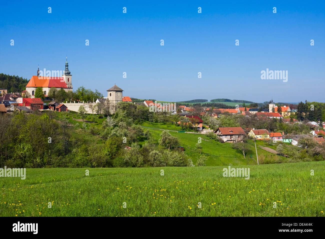 Strilky, Kromeriz district, Zlin region, Moravia, Czech Republic, Europe - Stock Image