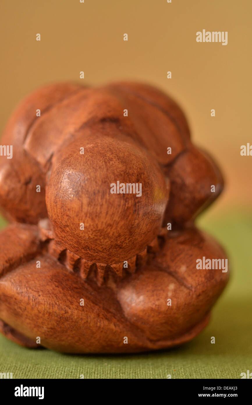 Yogi Man a.k.a. Orang Malu. - Stock Image