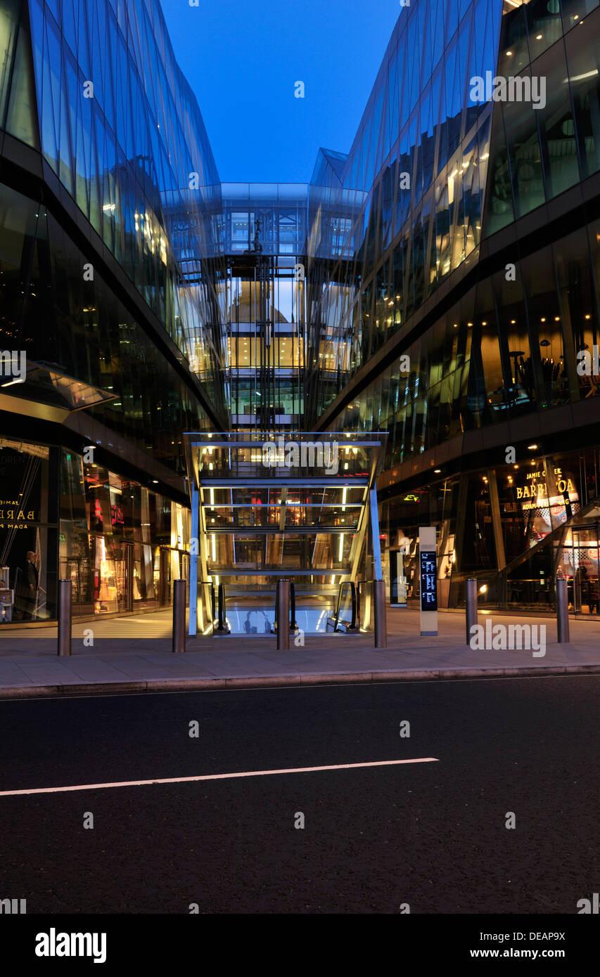 One New Change shopping destination, Cheapside, London EC4, United Kingdom - Stock Image