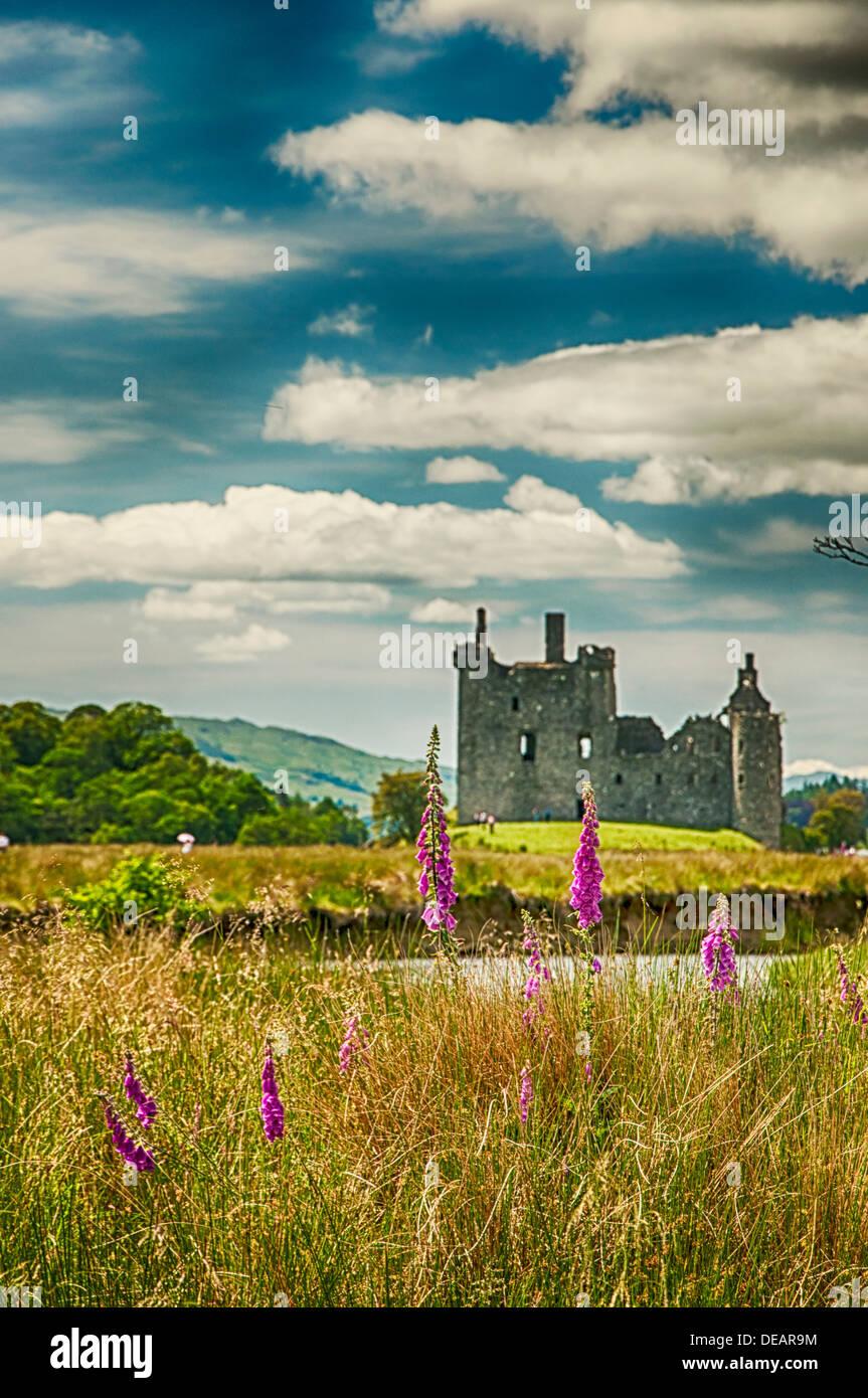 Castle Kilchurn in Scotland - Stock Image