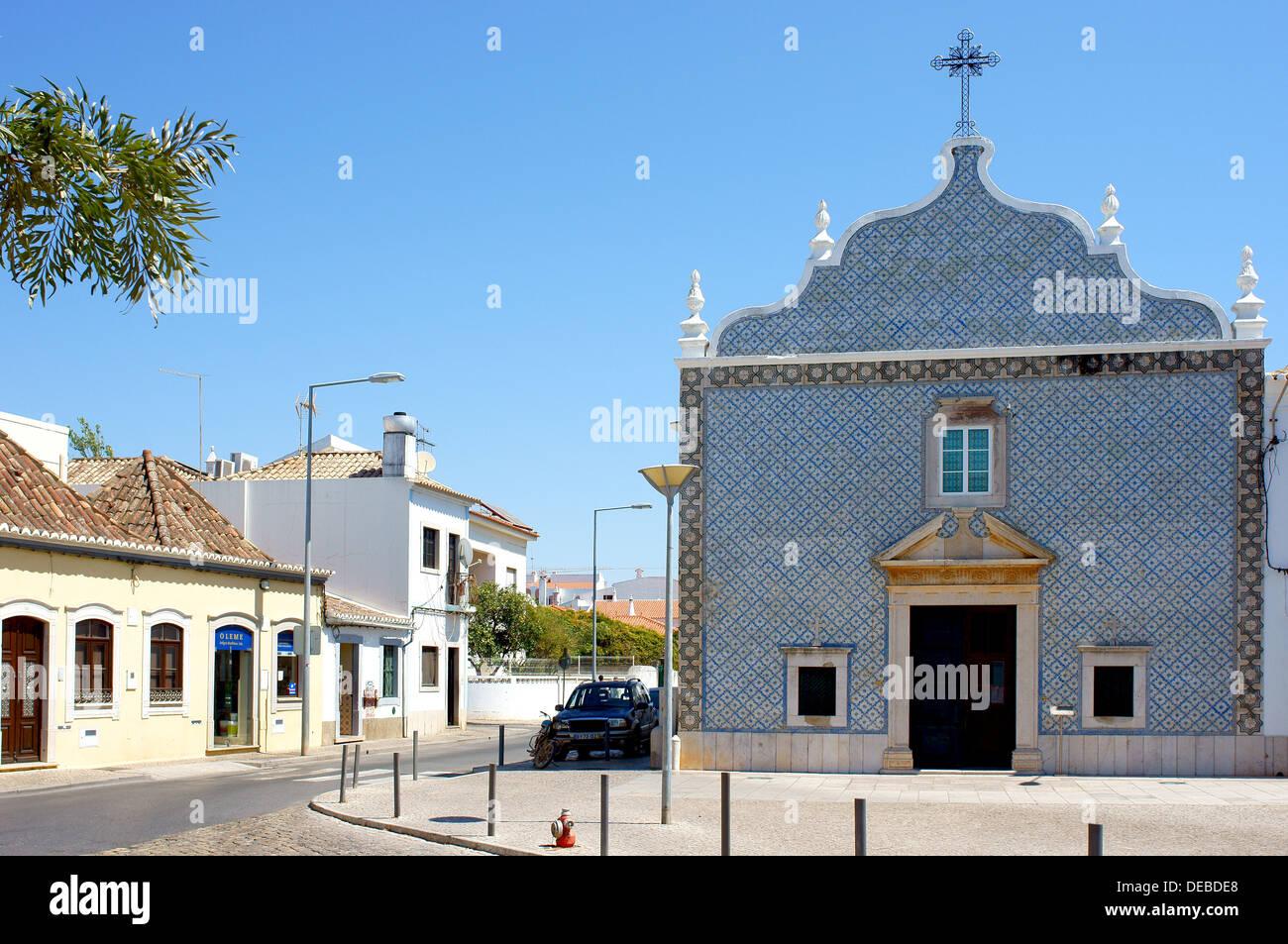 Igreja Sao Bras Church Tavira Algarve Portugal - Stock Image