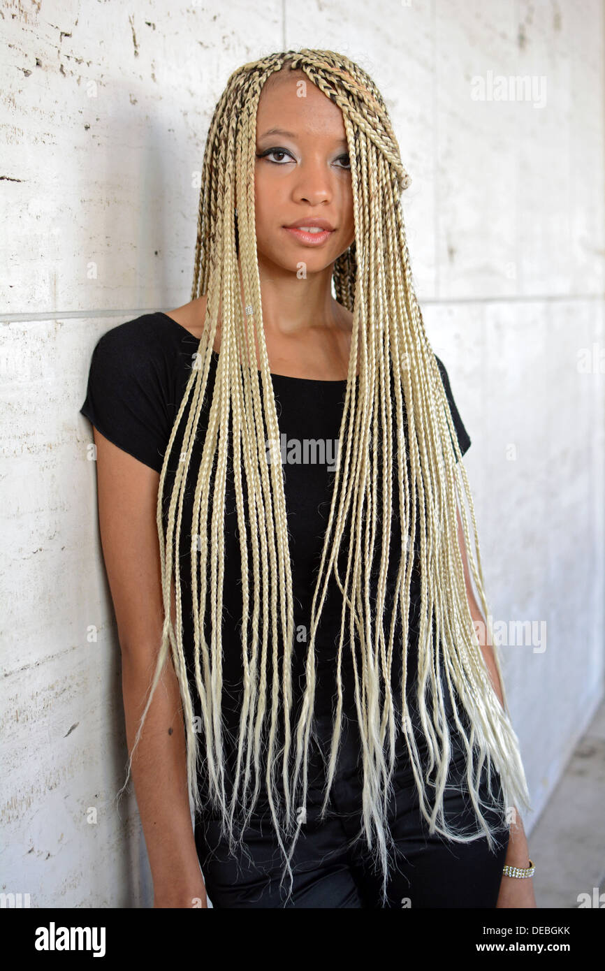 African Hair Extensions Stock Photos African Hair Extensions Stock