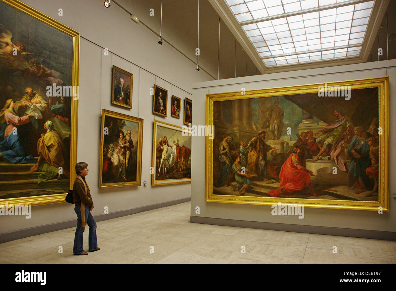 Permanent collection at the Musée des Beaux Arts (Fine Arts Museum), Bordeaux. Gironde, Aquitaine, France - Stock Image