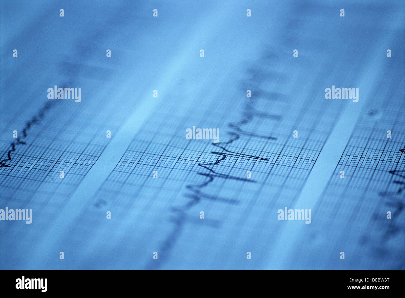 graph line on plotting paper stock photo 60497468 alamy