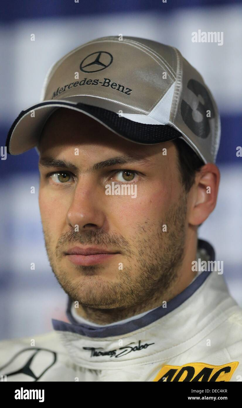 Oschersleben, Germany. 15th Sep, 2013. The British Mercedes-pilot Gary Paffett photographed after the 8th race of Stock Photo