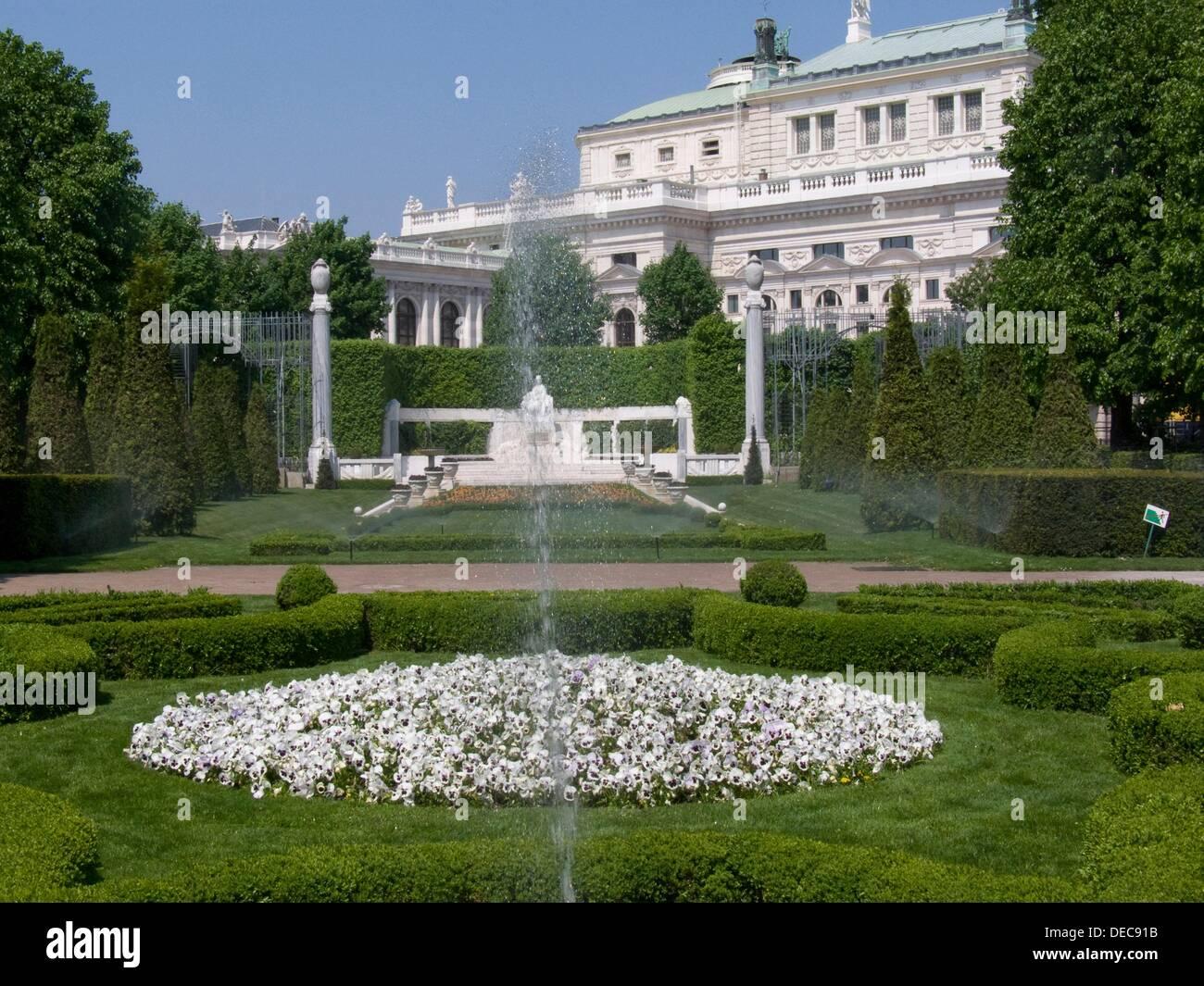 österreich Wien Volksgarten Stock Photo 60506807 Alamy