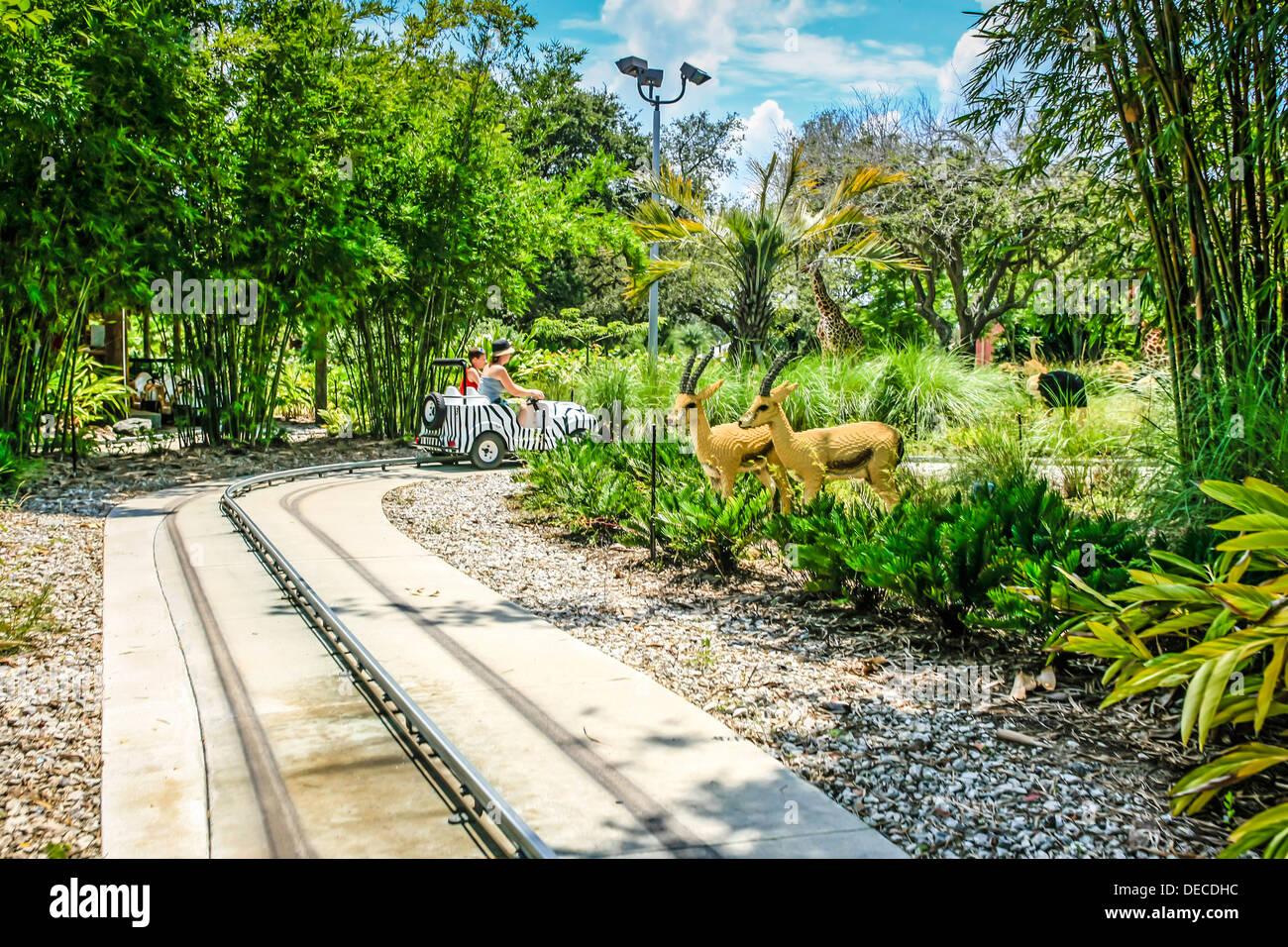 Safari In Africa At The Legoland Theme Park Florida