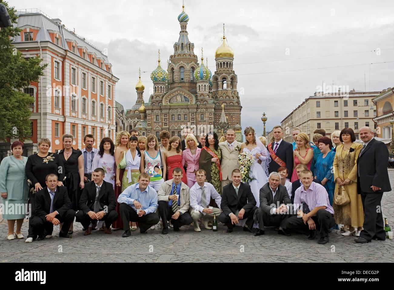 Church of the Bleeding Savior, Saint Petersburg, Russia Stock Photo