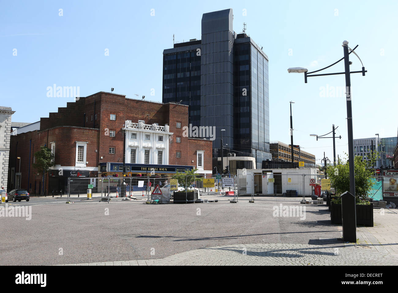 rochdale council building, the black box, rochdale greater manchester - Stock Image