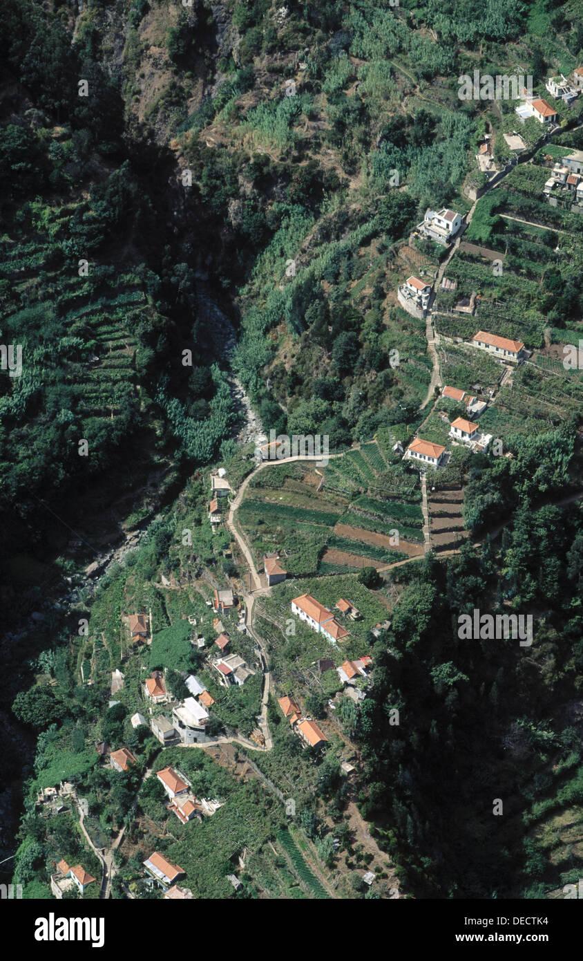 Curral das Freiras. Madeira. Portugal. - Stock Image