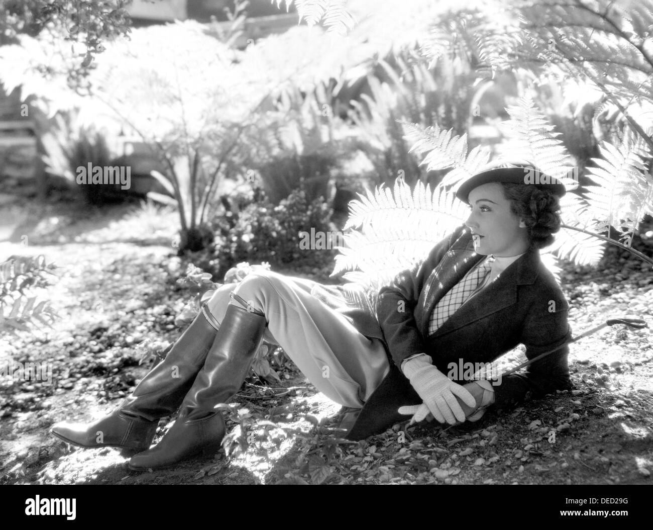 MILLS OF THE GODS  1934 Columbia Pictures film with Fay Wray - Stock Image