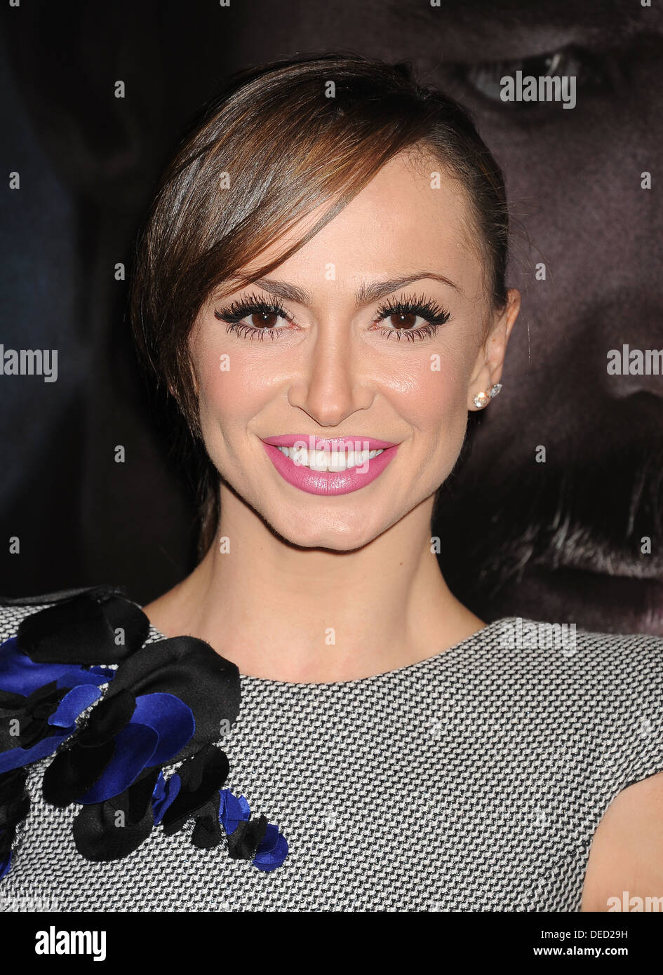 KARINA SMIRNOFF  US TV personality in September 2013. Photo Jeffrey Mayer - Stock Image