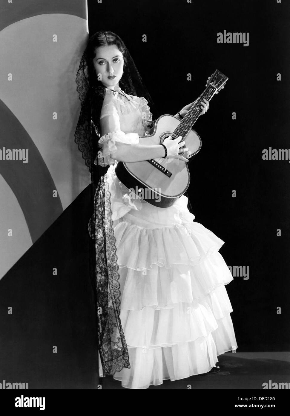 THE TEXAN  1930 Paramount film with Fay Wray - Stock Image