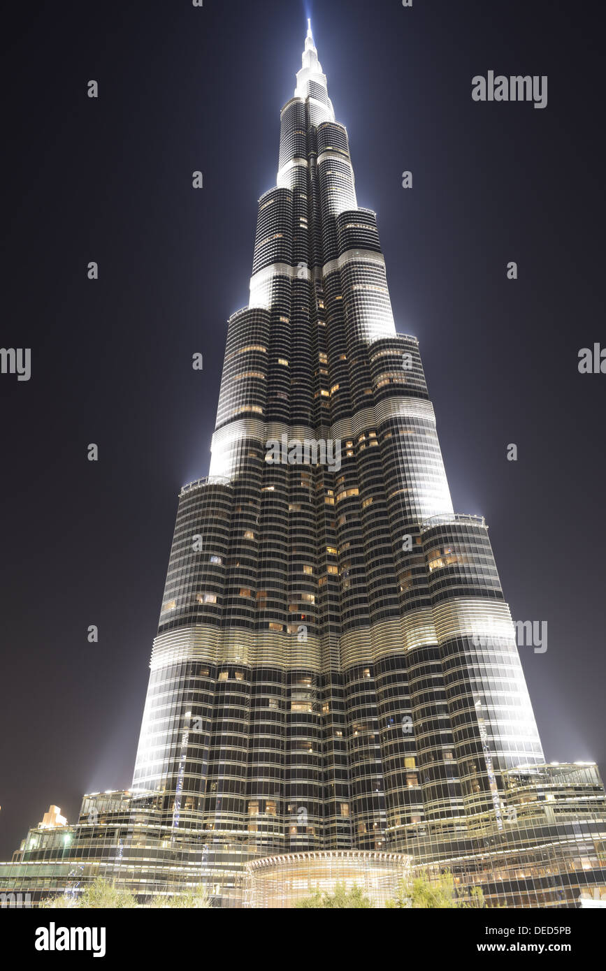 The view on Burj Khalifa  It is the world's tallest