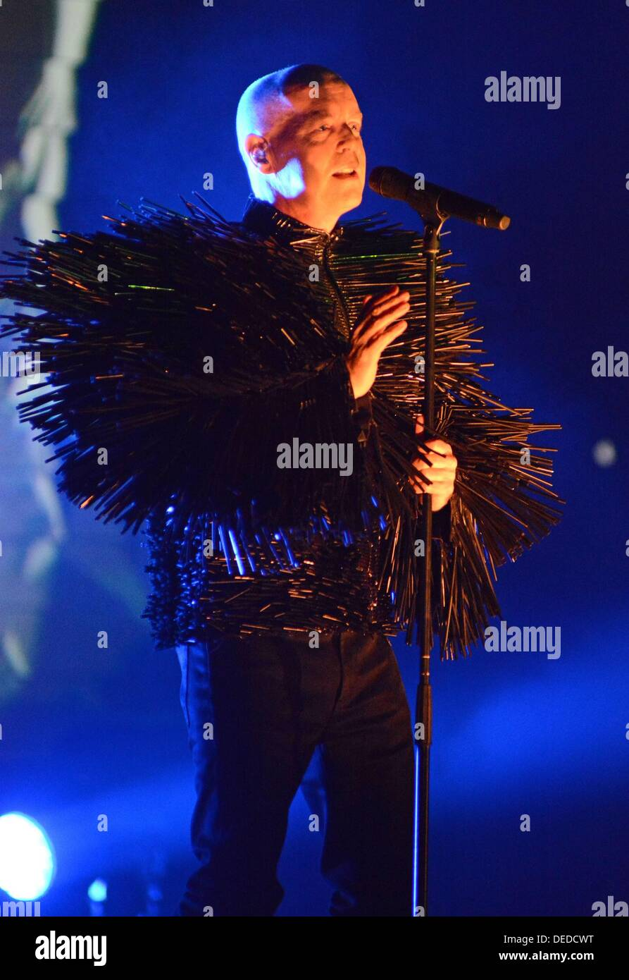 New York, NY. 16th Sep, 2013. Neil Tennant in attendance for PET SHOP BOYS in Concert, Beacon Theatre, New York, NY September 16, 2013. © Derek Storm/Everett Collection/Alamy Live News - Stock Image