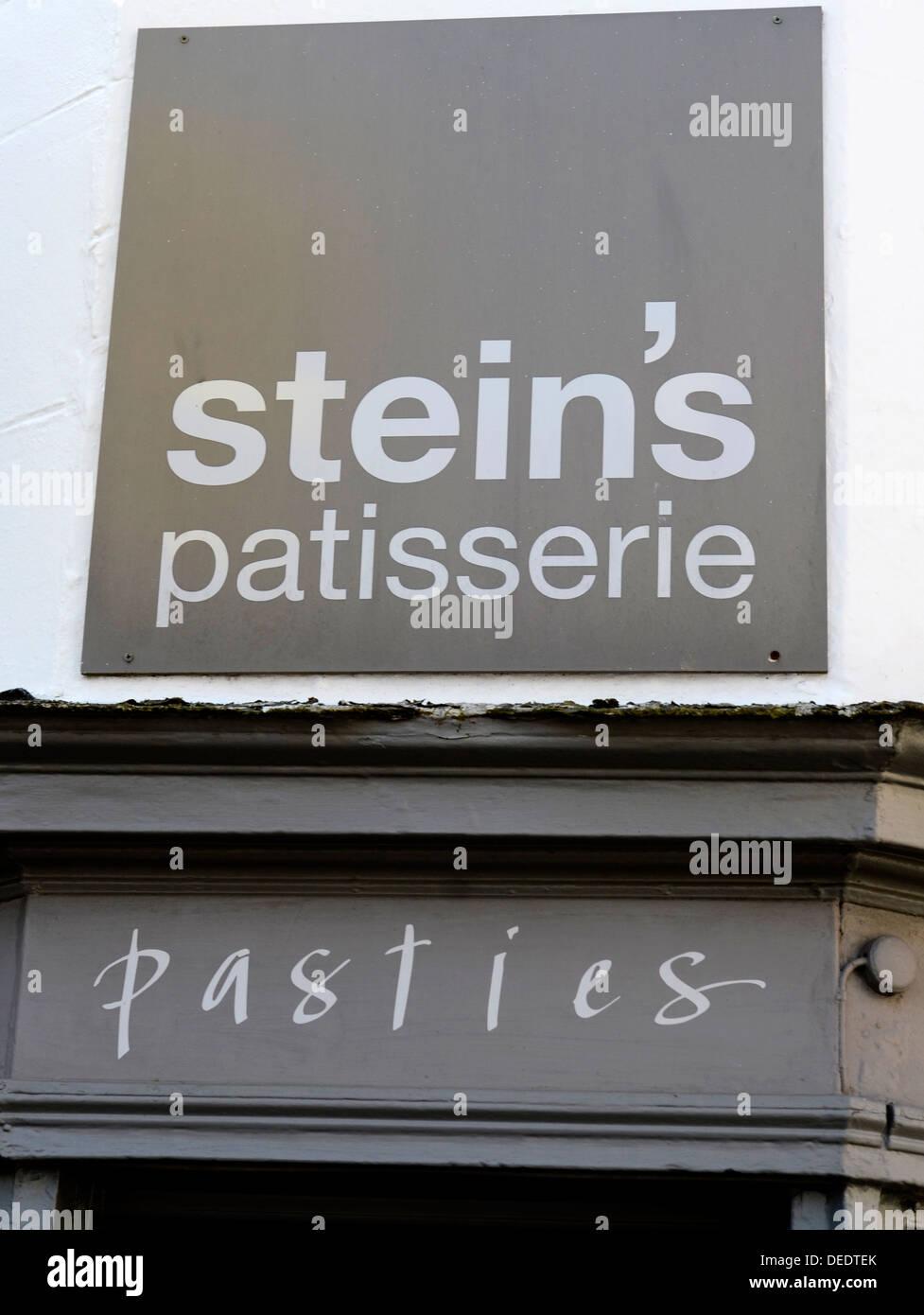 Rick Steins patisserie in Padstow, Cornwall, UK - Stock Image