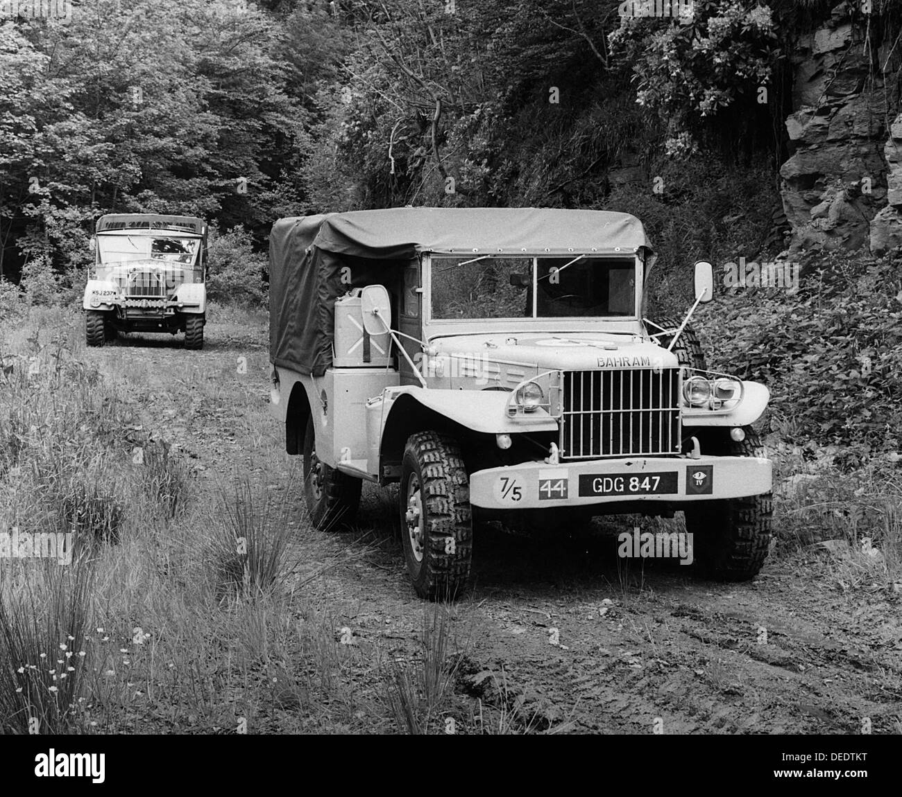 1943 Dodge 4x4 military weapons carrier - Stock Image