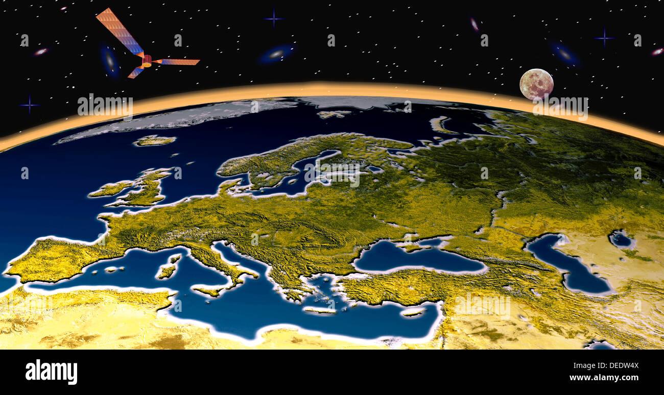Eurasia - Stock Image