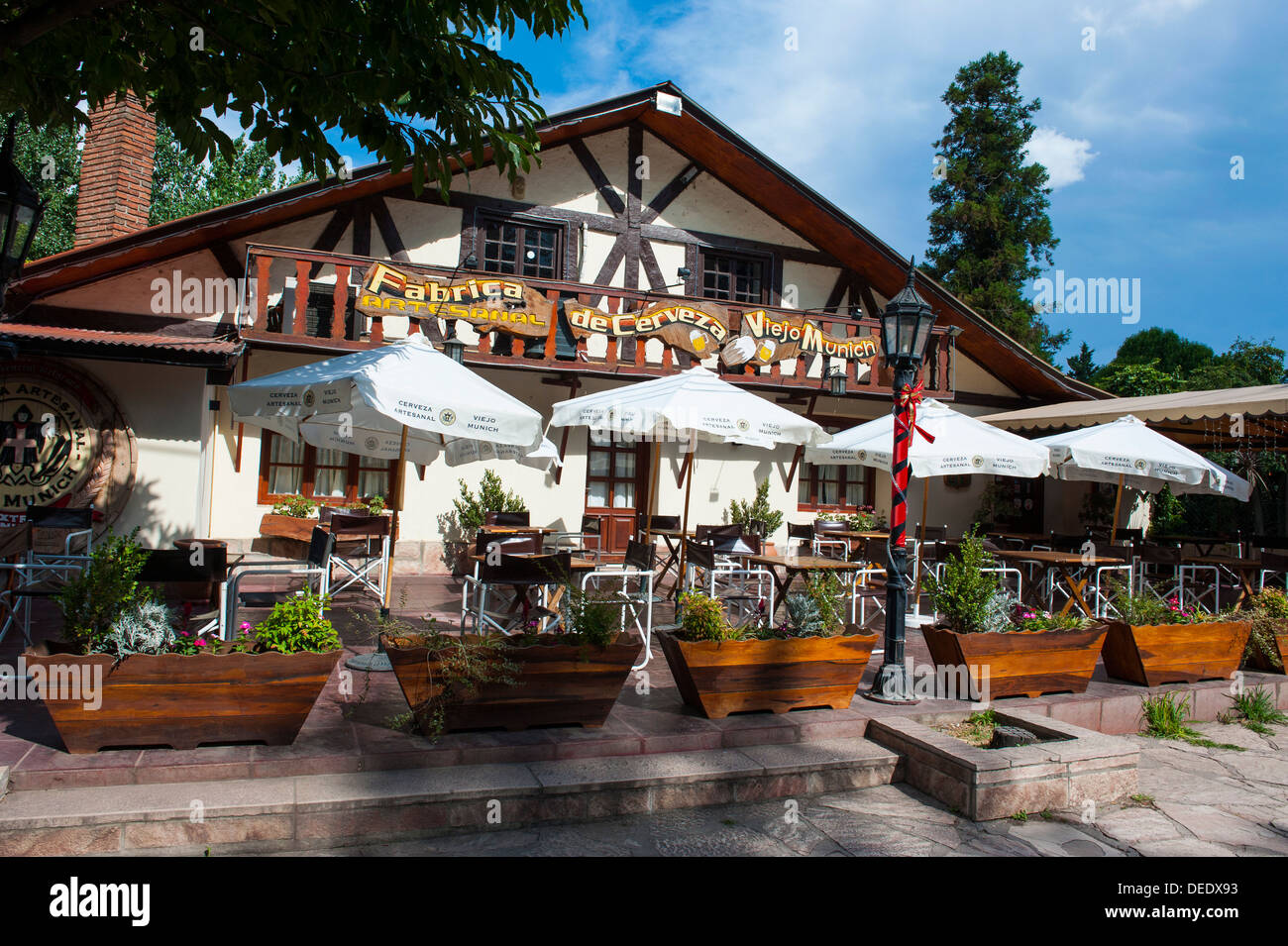 German heritage in Villa General Belgrano near Cordoba, Argentina, South America - Stock Image
