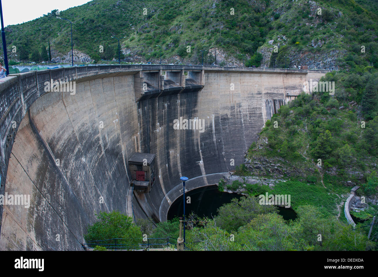 Los Molinas dam near Villa General Belgrano, Argentina, South America - Stock Image