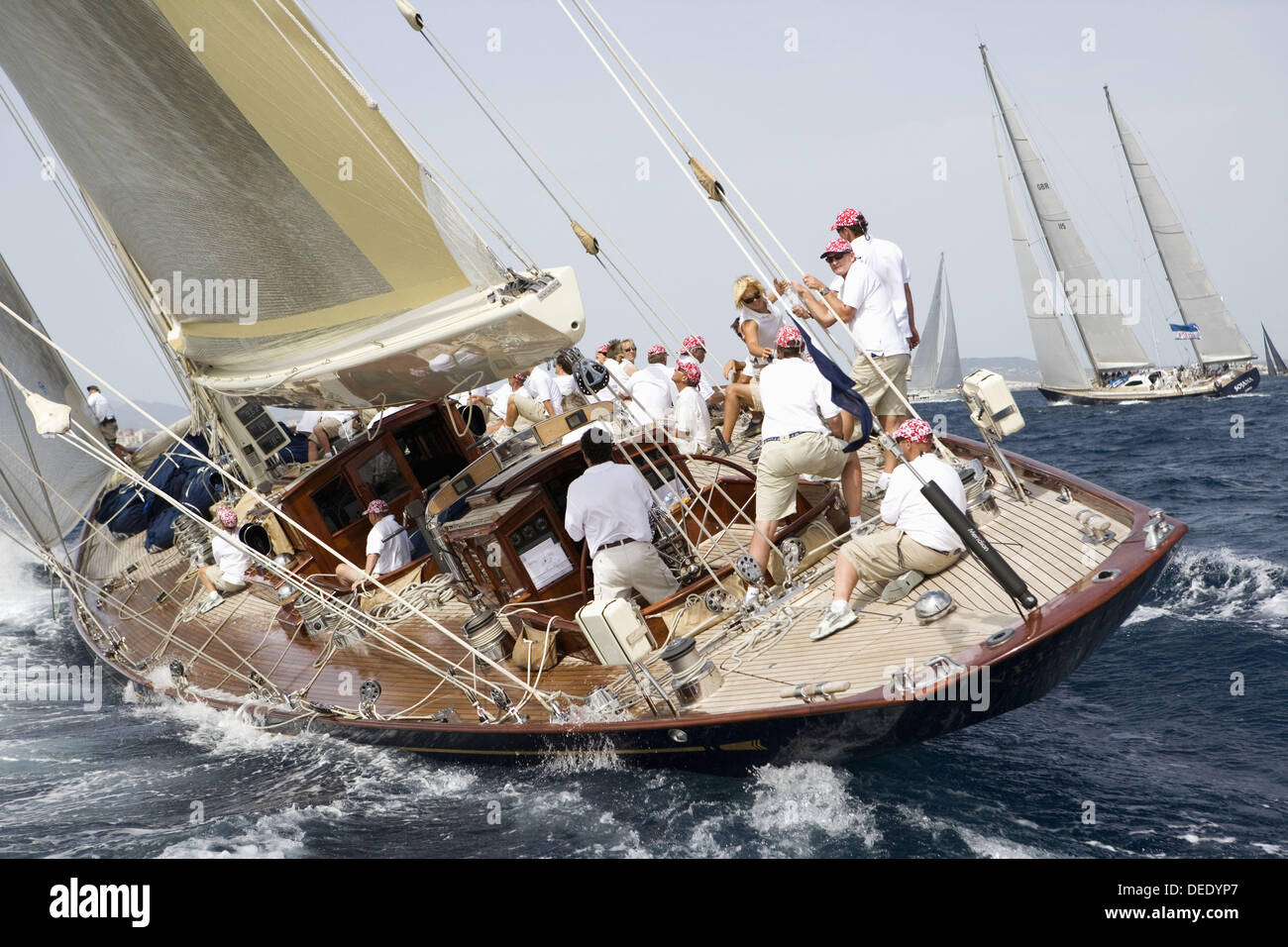 The Superyacht Cup, Palma de Mallorca, Spain Stock Photo