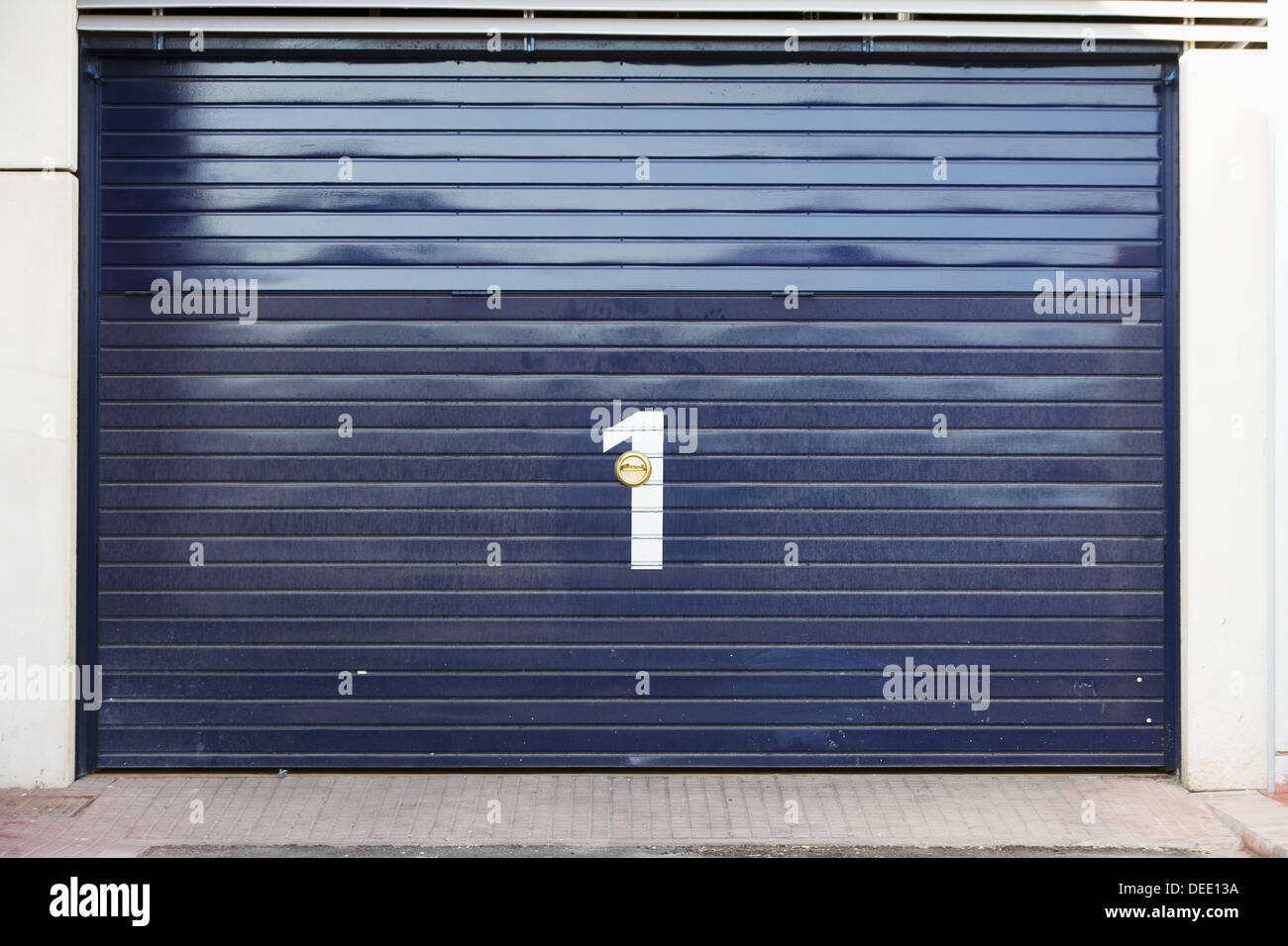 Door Number 1 - Stock Image