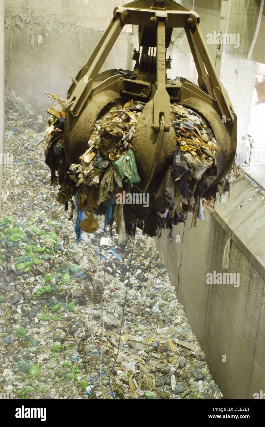 Palma de Mallorca waste recycling plant. Majorca. Balearic Islands. Spain - Stock Image