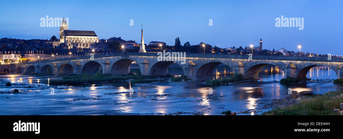 Blois, Loire Valley, Loir et Cher, France, Europe - Stock Image