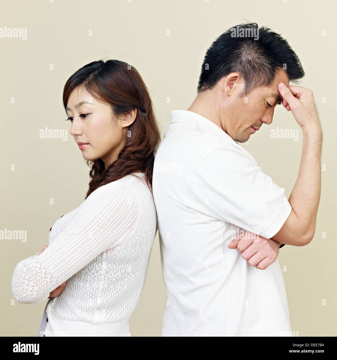 Young Asian Couple - Stock Image