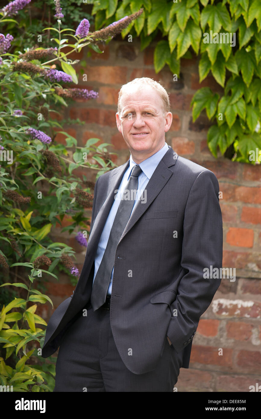 Phil Orford , chief exec of the Forum for Private Business. pictured at Forum of Private Business, Knutsford - Stock Image