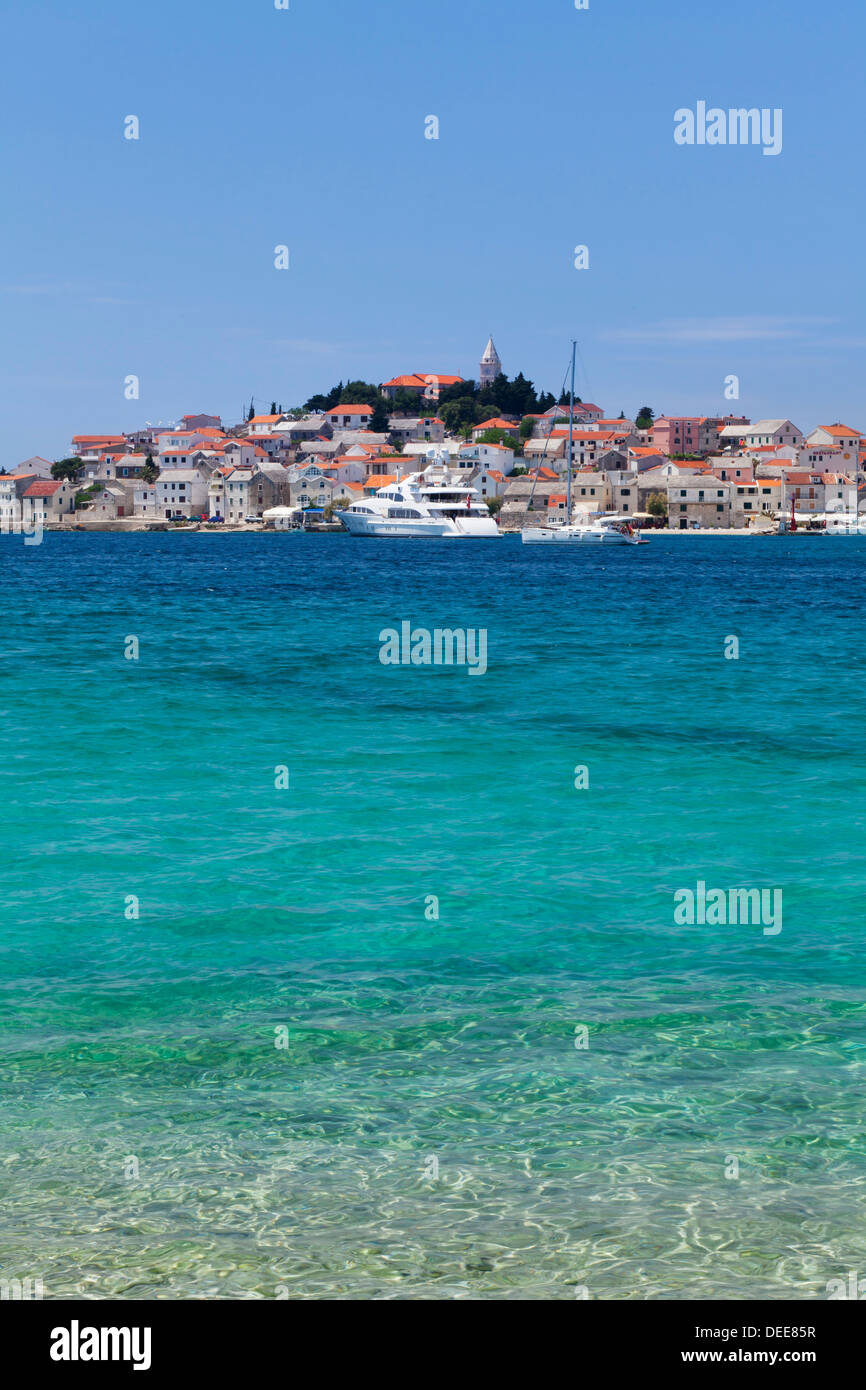 Primosten, Adriatic Coast, Dalamtia, Croatia, Europe - Stock Image