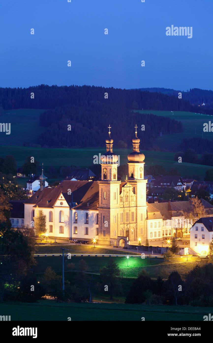Klosterkirche, (Abbey of St. Peter), Glottertal, Schwarzwald, Baden Wurttemberg, Germany, Europe - Stock Image