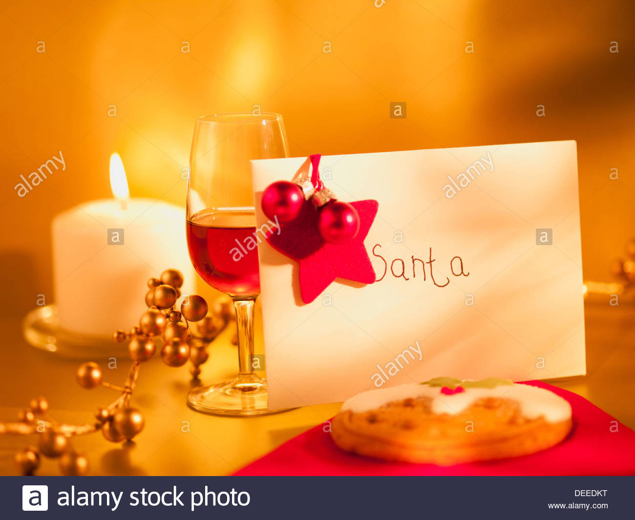 Santa Snack Stock Photos & Santa Snack Stock Images - Alamy