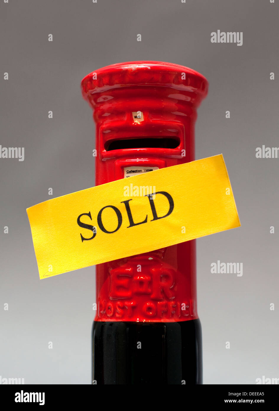 Royal Mail to be privatised, London Stock Photo
