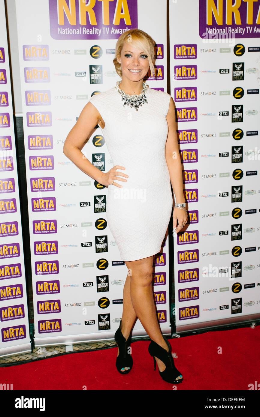 Liz McClarnon at National Reality TV Awards - Arrivals - Stock Image