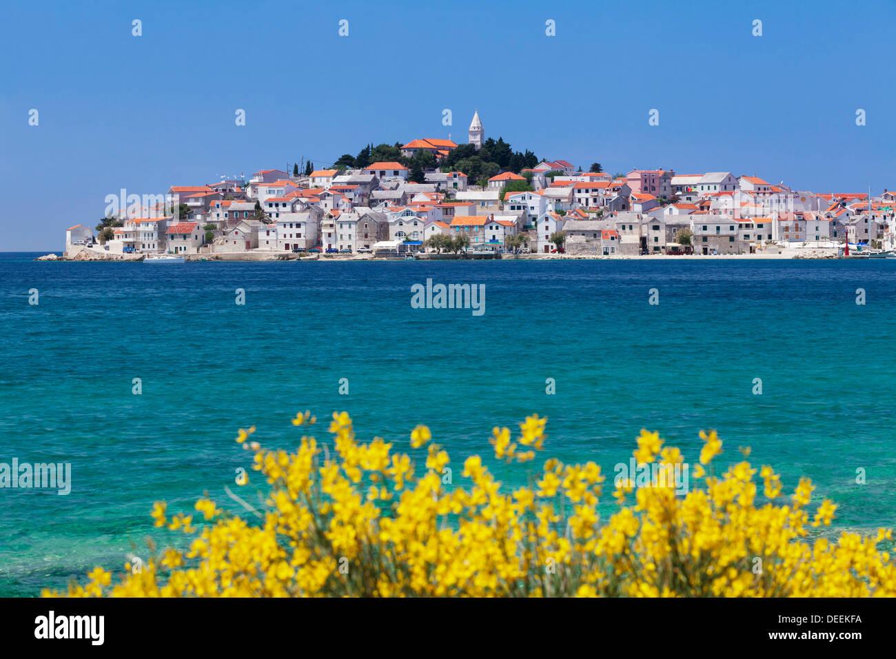 Primosten, Dalmatian Coast, Croatia, Europe - Stock Image