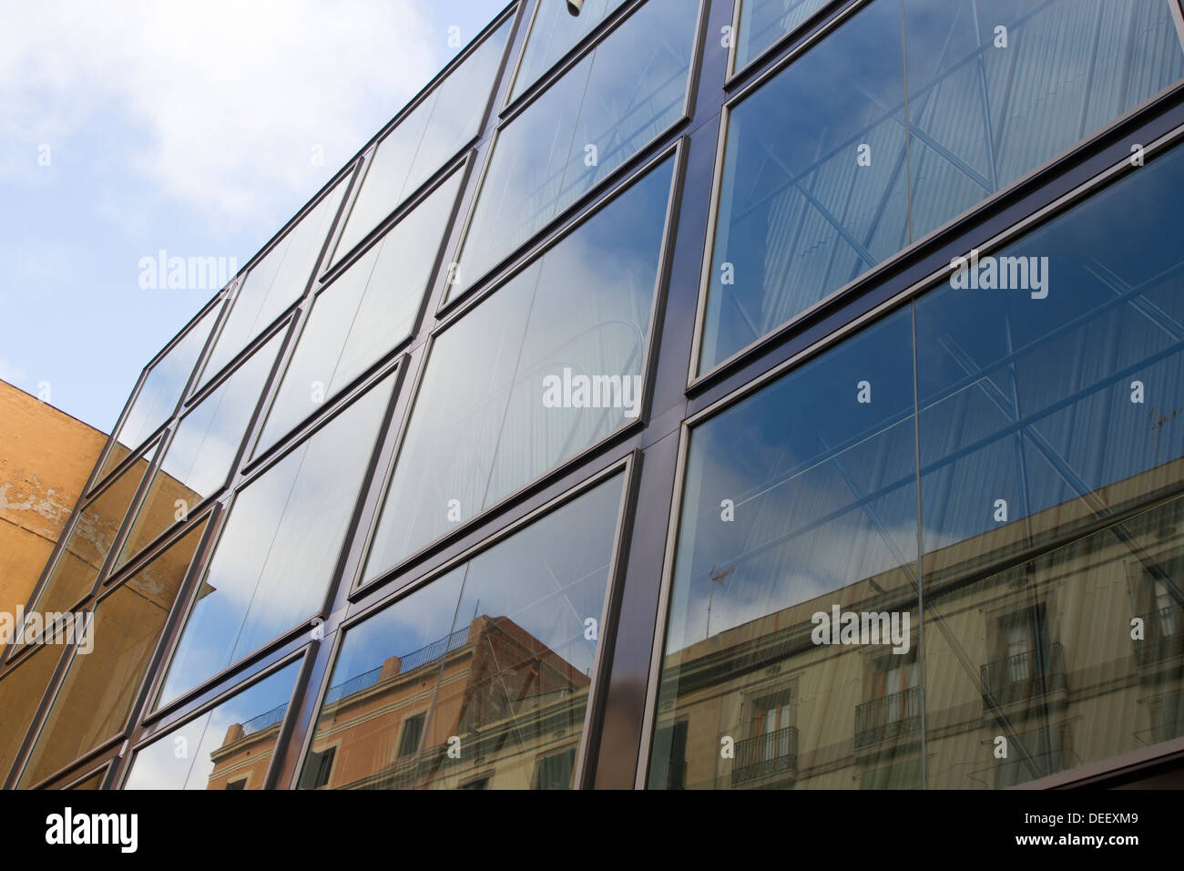 Glass Building - Stock Image