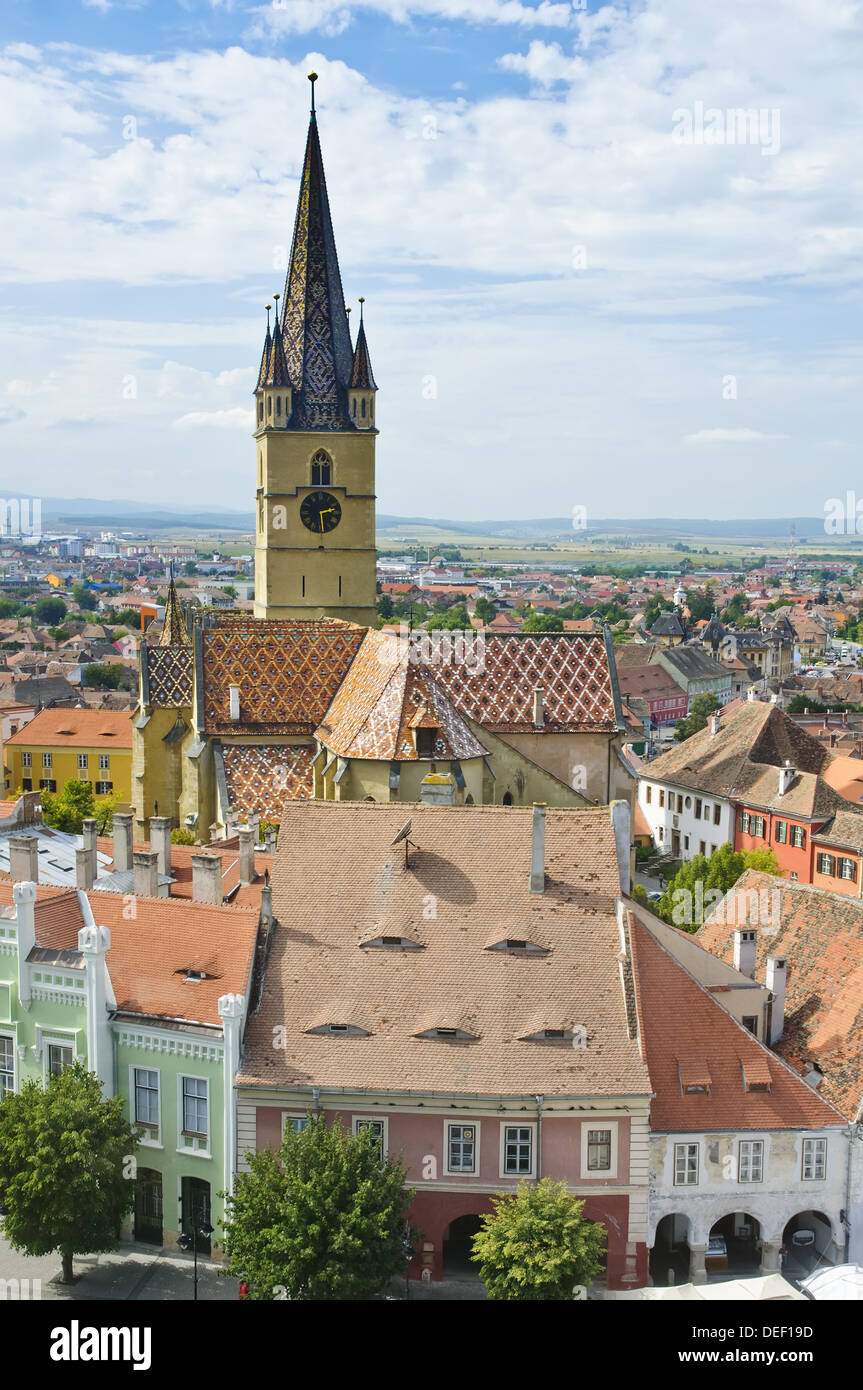 Sibiu (Hermannstadt), european capital of culture 2007 - Stock Image