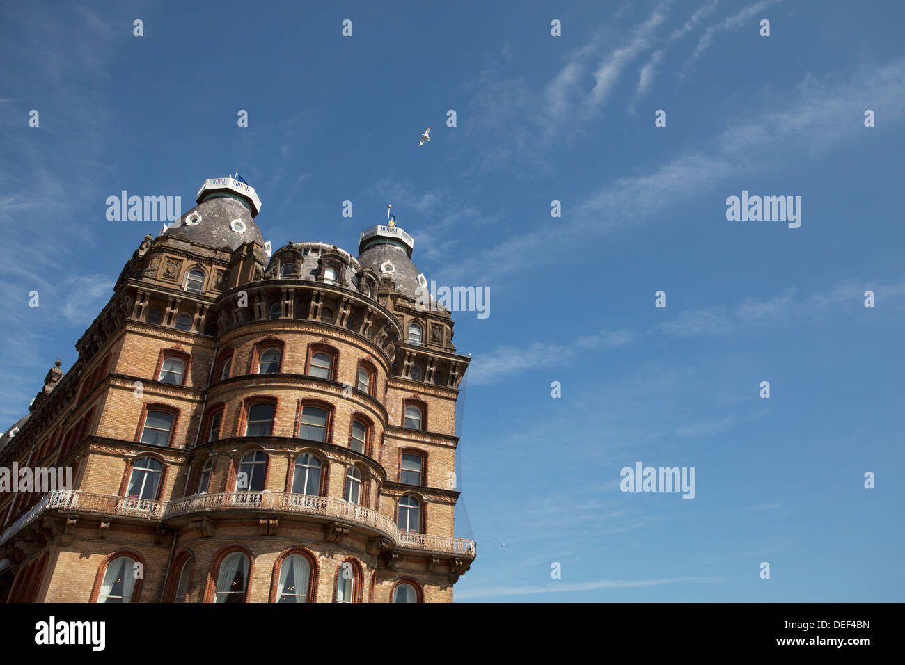 The Grand Hotel, Scarborough, North Yorkshire - Stock Image
