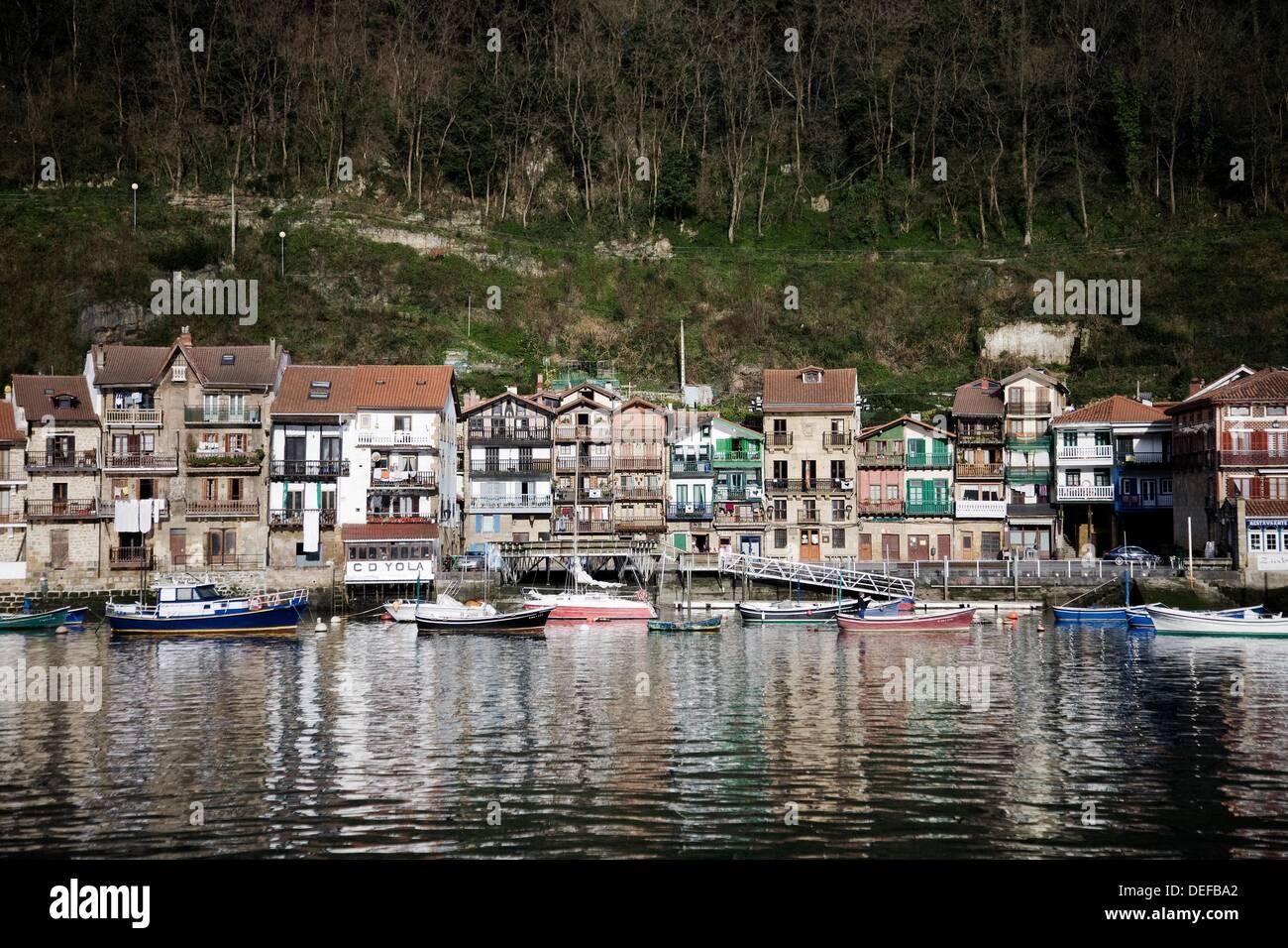 Pasajes de San Juan  Guipuzkoa  Euskadi Spain - Stock Image