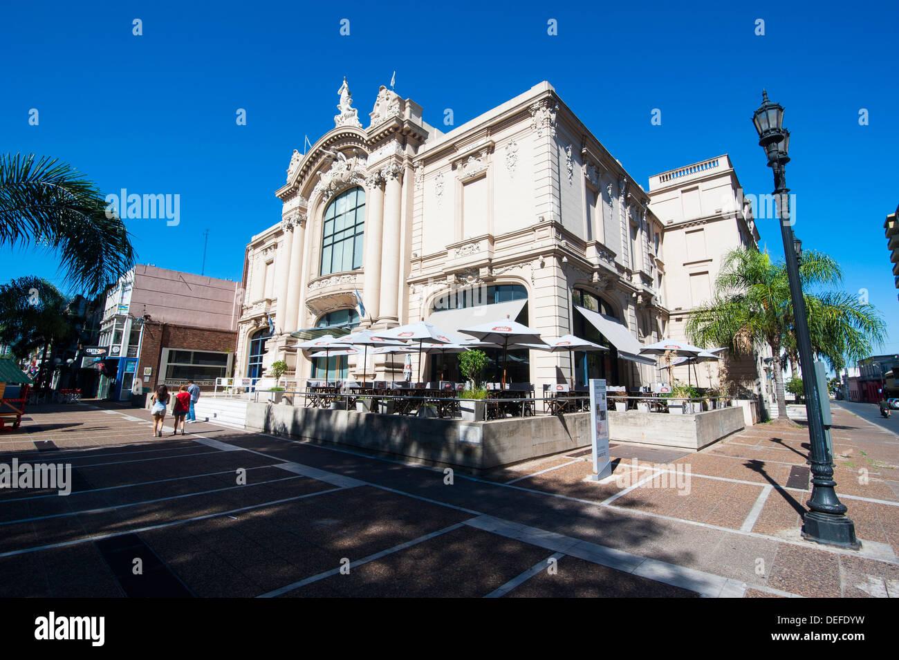 Municipal theater of Santa Fe, capital of the province of Santa Fe, Argentina, South America - Stock Image