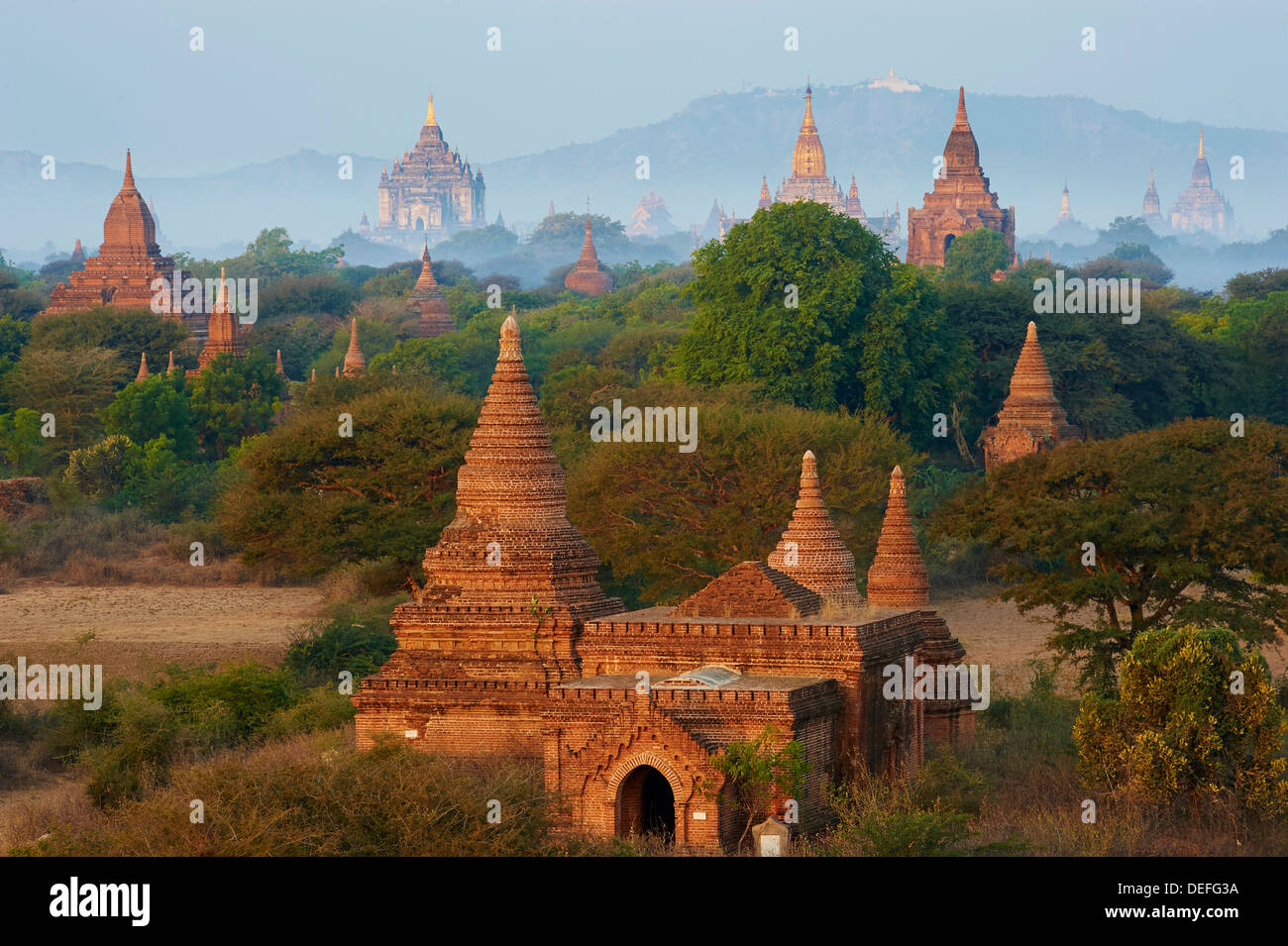 Bagan (Pagan), Myanmar (Burma), Asia Stock Photo